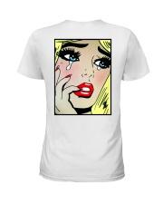 This Bitch Lyin' Ladies T-Shirt back