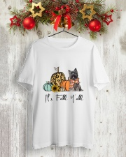 Cairn Terrier Classic T-Shirt lifestyle-holiday-crewneck-front-2