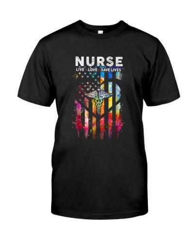 Nurse Live Love Save Lives Cute
