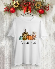 Maltese Classic T-Shirt lifestyle-holiday-crewneck-front-2