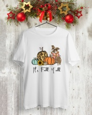Old English Bulldog Classic T-Shirt lifestyle-holiday-crewneck-front-2
