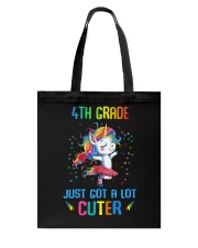 Unicorn 4th Grade Cuter Tote Bag thumbnail