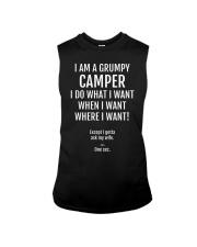 I AM A Grumpy Camper Sleeveless Tee thumbnail