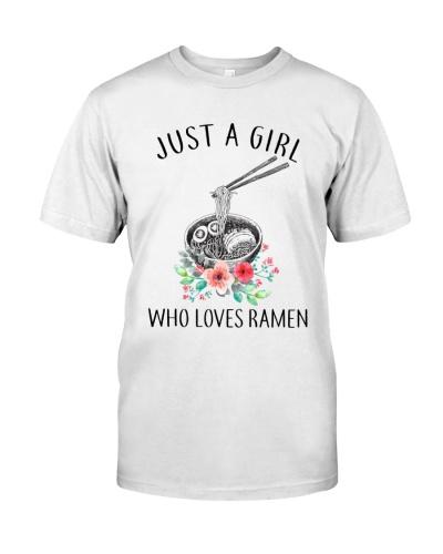 Just A Girl Who Love Ramen TM01
