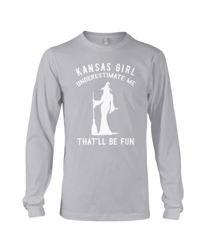 Kansas Girl Underestimate Me DUYT