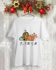 American Eskimo Classic T-Shirt lifestyle-holiday-crewneck-front-2