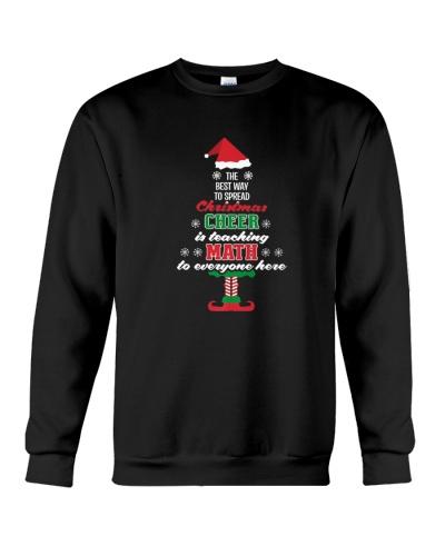Math Teacher Christmas Shirt