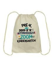 PRE-K ZOOMING INTO KINDERGARTEN Drawstring Bag thumbnail
