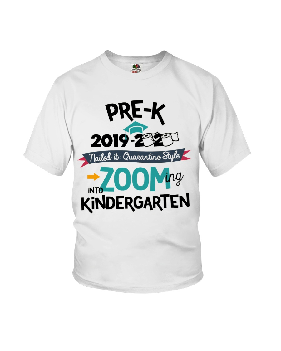 PRE-K ZOOMING INTO KINDERGARTEN Youth T-Shirt