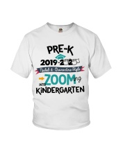PRE-K ZOOMING INTO KINDERGARTEN Youth T-Shirt front