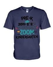 PRE-K ZOOMING INTO KINDERGARTEN V-Neck T-Shirt thumbnail
