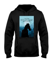 It Gets Easier Every Day Hooded Sweatshirt thumbnail