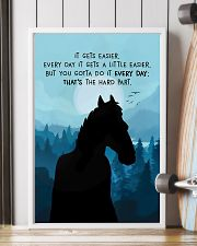 It Gets Easier Every Day 11x17 Poster lifestyle-poster-4