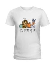 Boston Terrier Ladies T-Shirt thumbnail