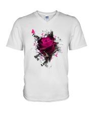 Breast Cancer V-Neck T-Shirt thumbnail