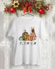German Shepherd Classic T-Shirt lifestyle-holiday-crewneck-front-2