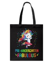 Family Pre-Kindergarten Magical QUYT Black Tote Bag thumbnail