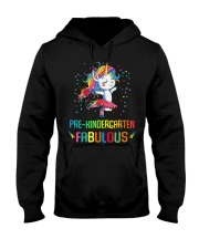 Family Pre-Kindergarten Magical QUYT Black Hooded Sweatshirt thumbnail