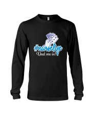 Acoustic Guitar Heartbeat Long Sleeve Tee thumbnail