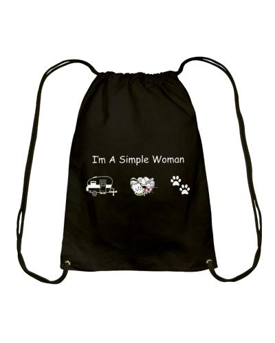 I'm A Simple Woman Caravan Crocs Dog