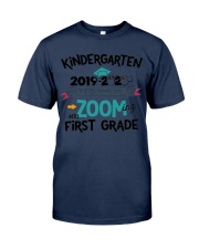 KINDERGARTEN ZOOMING INTO FIRST GRADE Classic T-Shirt thumbnail