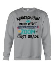 KINDERGARTEN ZOOMING INTO FIRST GRADE Crewneck Sweatshirt thumbnail