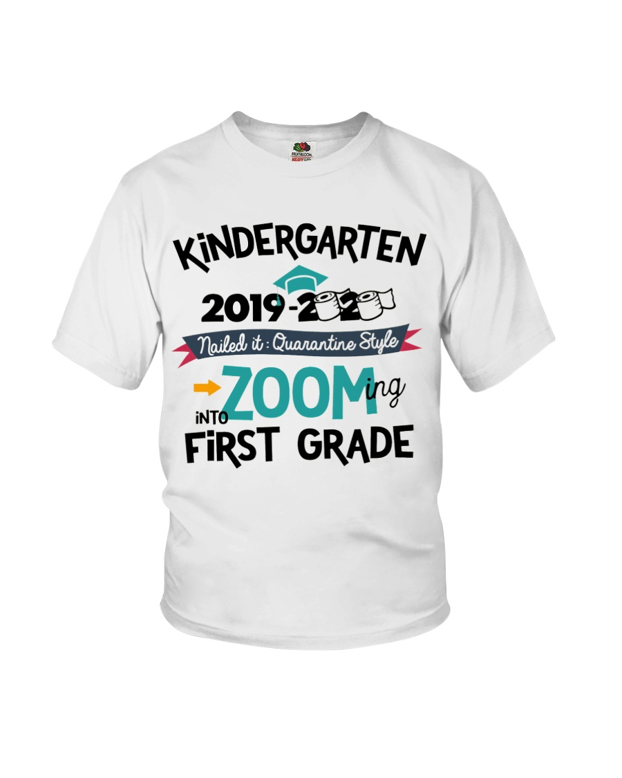 KINDERGARTEN ZOOMING INTO FIRST GRADE Youth T-Shirt