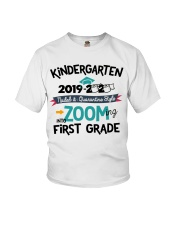 KINDERGARTEN ZOOMING INTO FIRST GRADE Youth T-Shirt front