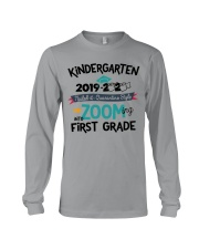 KINDERGARTEN ZOOMING INTO FIRST GRADE Long Sleeve Tee thumbnail