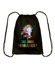 Family 3rd Grade Magical QUYT Black Drawstring Bag thumbnail