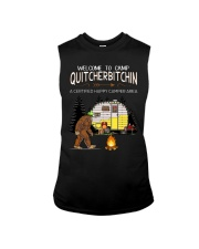 Welcome To Camp Quitchebitchin Sleeveless Tee thumbnail