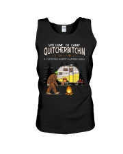 Welcome To Camp Quitchebitchin Unisex Tank thumbnail
