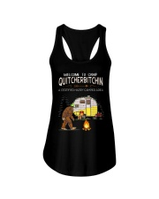 Welcome To Camp Quitchebitchin Ladies Flowy Tank thumbnail