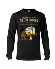 Welcome To Camp Quitchebitchin Long Sleeve Tee thumbnail