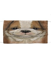 Dog Mask 44 Cloth face mask front