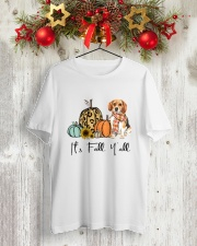 Beagle Classic T-Shirt lifestyle-holiday-crewneck-front-2