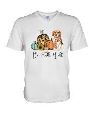 Beagle V-Neck T-Shirt thumbnail