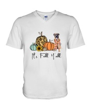 Boerboel V-Neck T-Shirt thumbnail