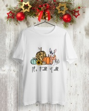 Frenchie Classic T-Shirt lifestyle-holiday-crewneck-front-2