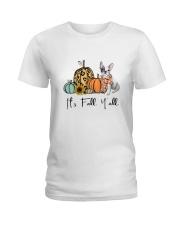 Frenchie Ladies T-Shirt thumbnail