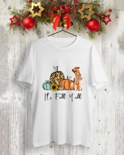 Airedale Terrier Classic T-Shirt lifestyle-holiday-crewneck-front-2