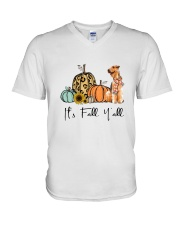 Airedale Terrier V-Neck T-Shirt thumbnail