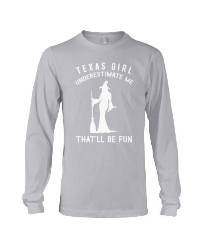 Texas Girl Underestimate Me