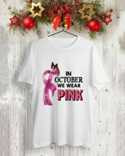 Breast Cancer Classic T-Shirt lifestyle-holiday-crewneck-front-2
