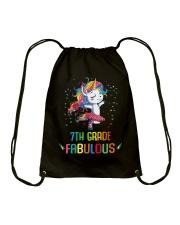 Family 7th Grade Magical QUYT Black Drawstring Bag thumbnail