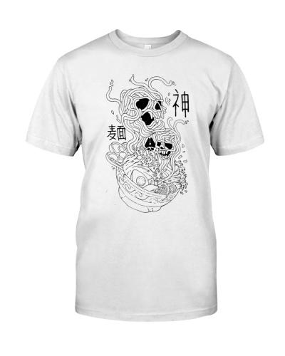 Ramen Noodles Skull