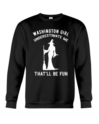 Washington Girl Underestimate Me