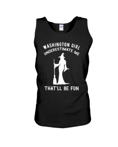 Washington Girl Underestimate Me