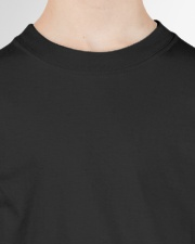 Family 1st Grade Magical QUYT Black Youth T-Shirt garment-youth-tshirt-detail-front-neck-01