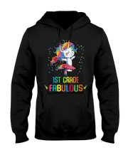 Family 1st Grade Magical QUYT Black Hooded Sweatshirt thumbnail